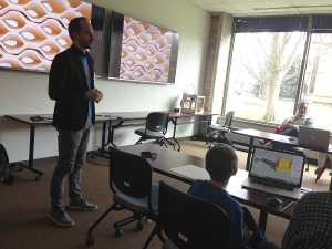 3D printing workshop with Brian Peters
