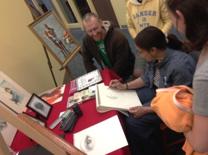 Rhonda Mitchell offers drawing tips